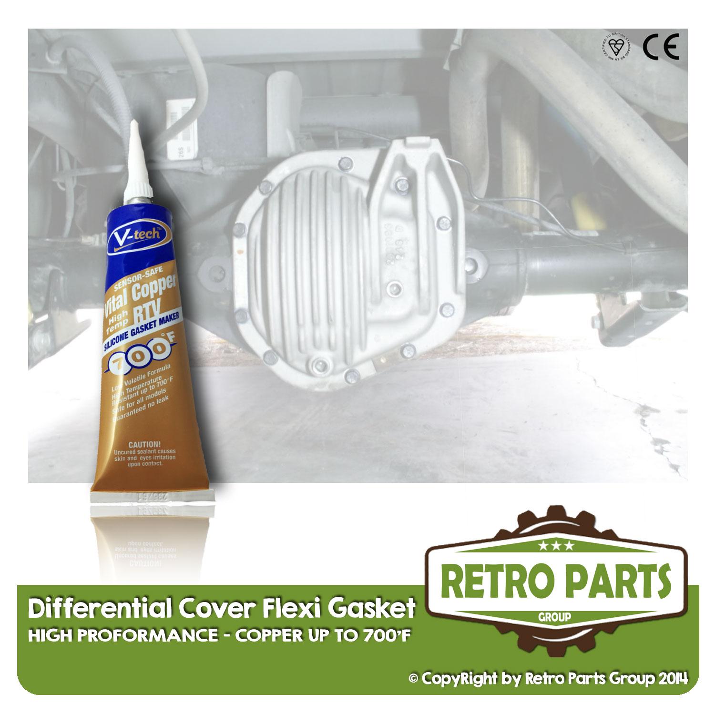 Coperchio Differenziale Guarnizione Flessibile Per Peugeot Bipper. Pro High Seal-